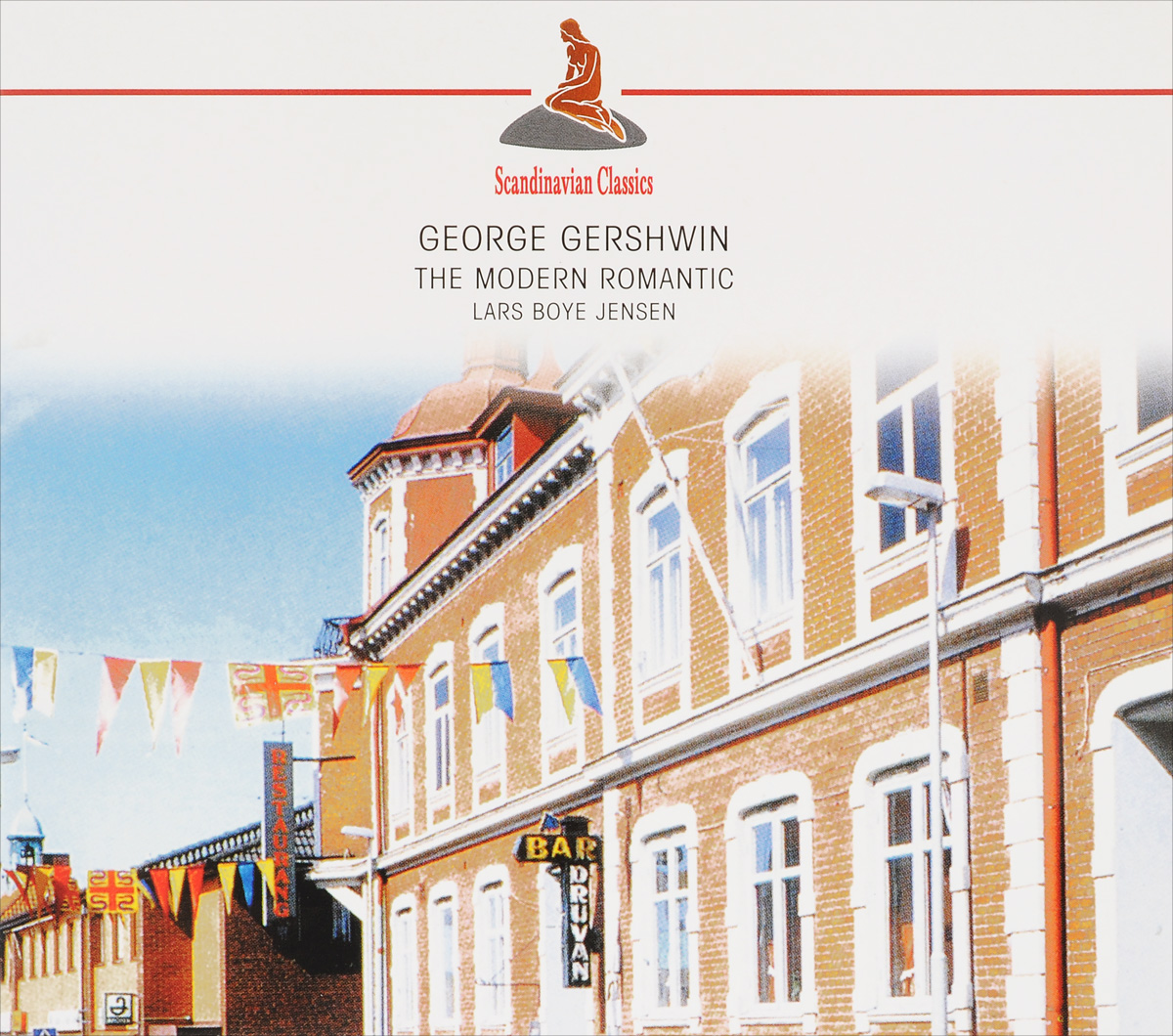 Ларс Бойе Йенсен Lars Boye Jensen. George Gershwin. The Modern Romantic george gershwin gershwin on air 2cd