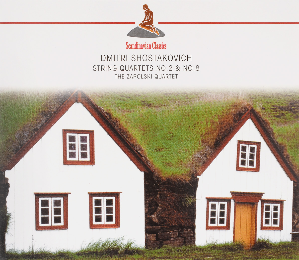 Zapolski Quartet Scandinavian Classics. Zapolski Quartet. Dmitri Schostakowitch. String Quartets No. 2 & No. 8 недорого