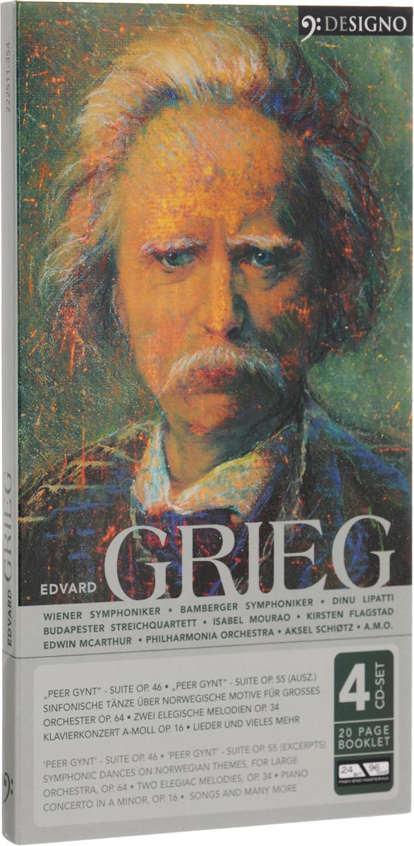 Изабель Морао Edvard Grieg. Edvard Grieg (4 CD) edvard grieg 23 little piano pieces