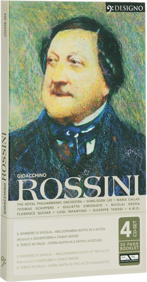 Gioacchino Rossini. Rossini (4 CD) gioacchino rossini claudio abbado il barbiere di siviglia