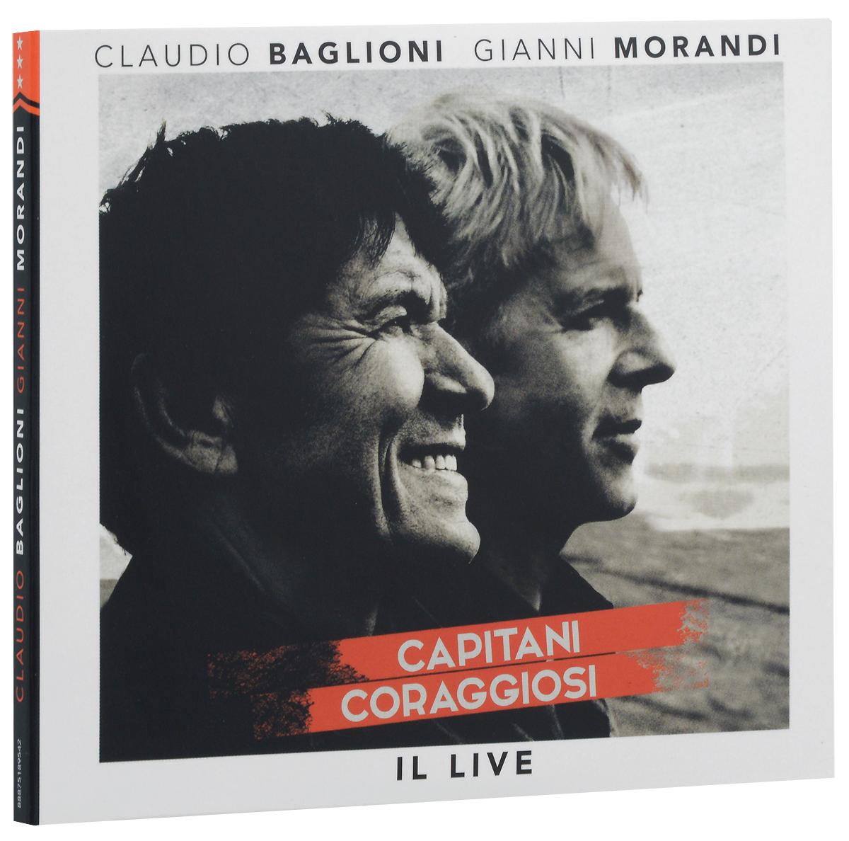 цены Клаудио Баглиони,Джанни Моранди Claudio Baglioni. Gianni Morandi. Capitani Coraggiosi. Il Live (2 CD)