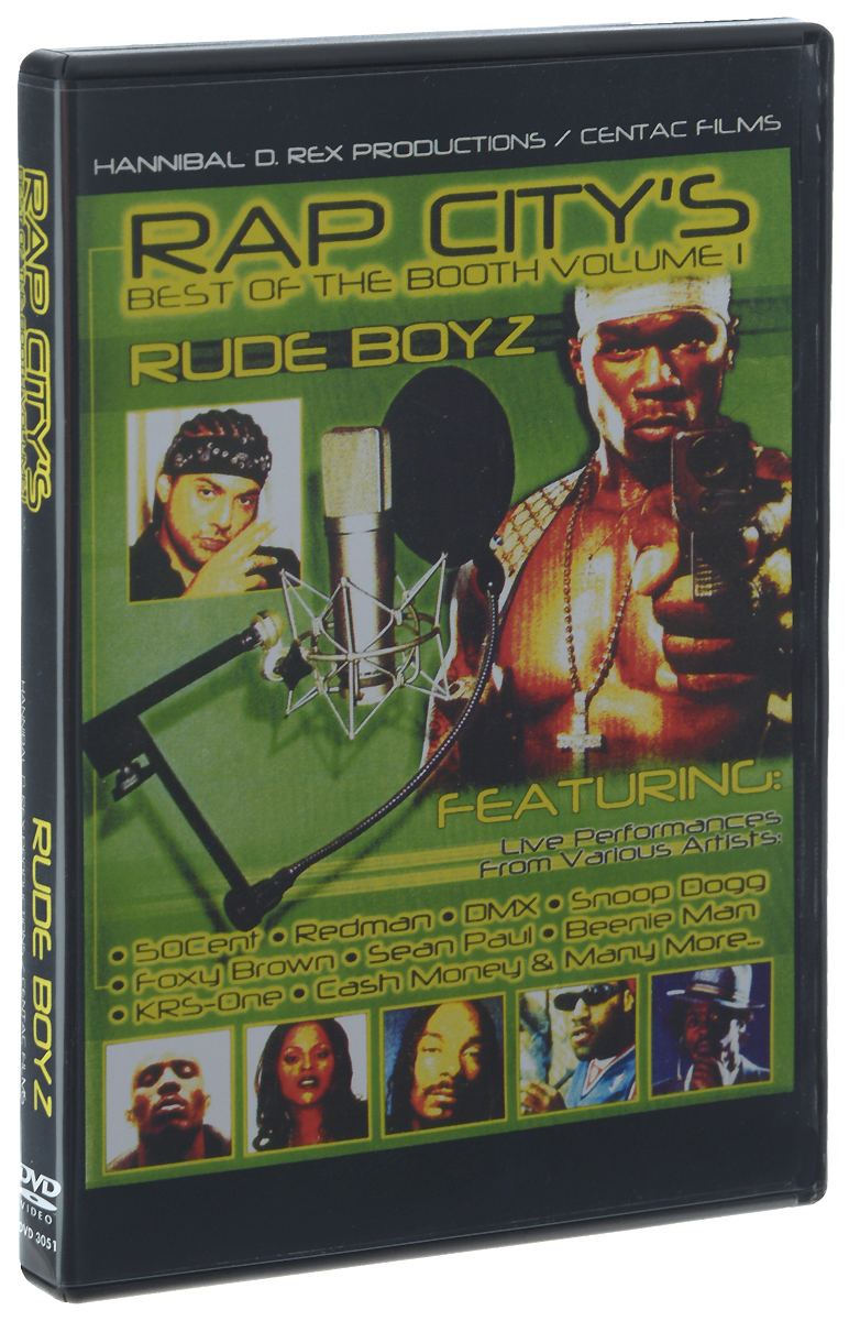 Rap City's Best Of The Booth: Volume I: Rude Boyz booth m sushi and beyond