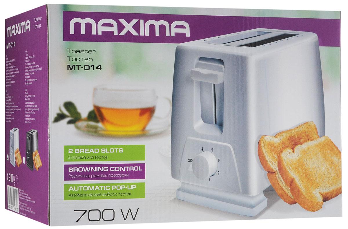 Maxima MT-014, Whiteтостер Maxima
