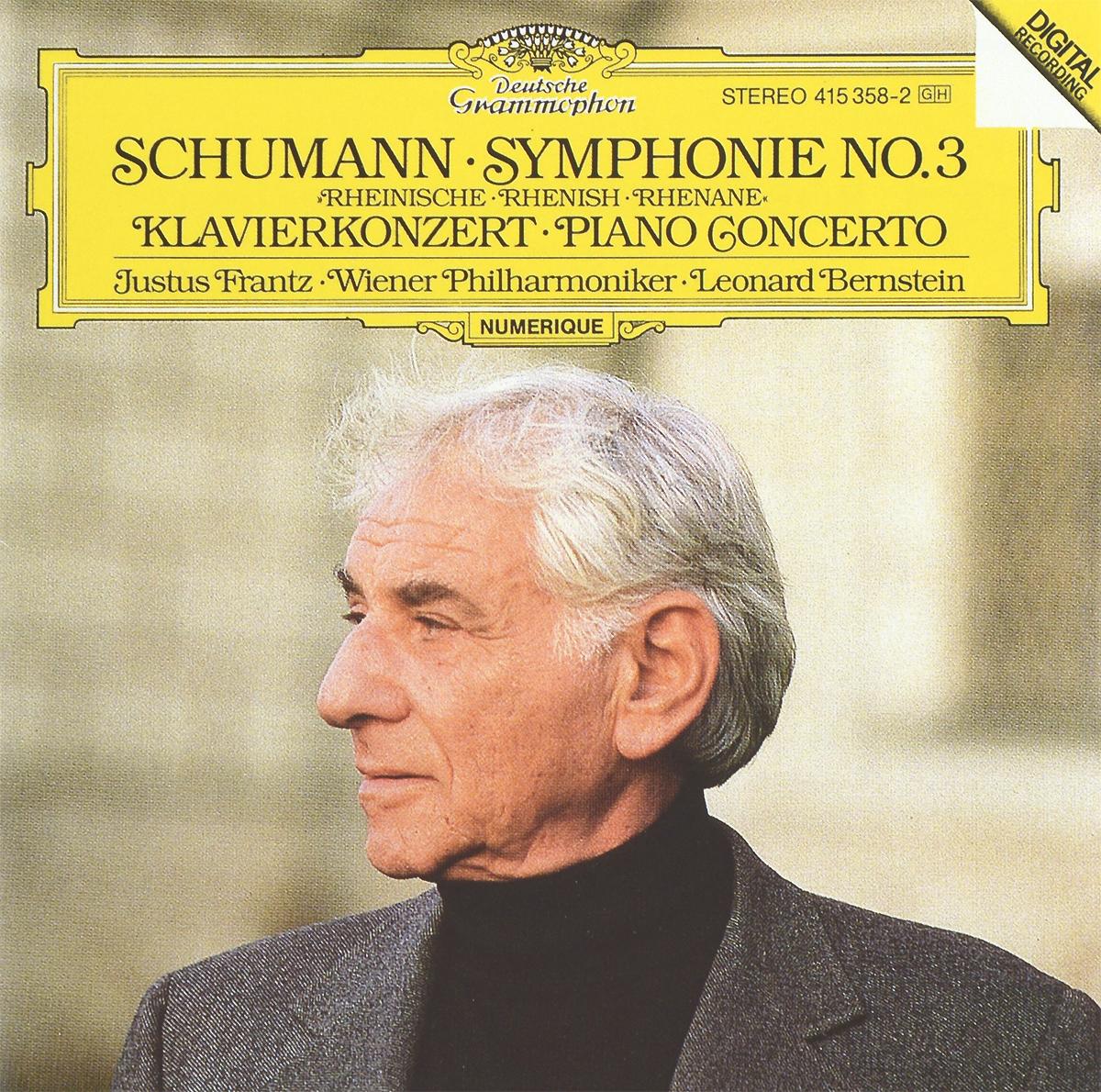 Леонард Бернштейн,Wiener Philharmoniker Leonard Bernstein. Schumann. Symphonie No. 3 / Klavierkonzert cd leonard bernstein wiener philharmoniker