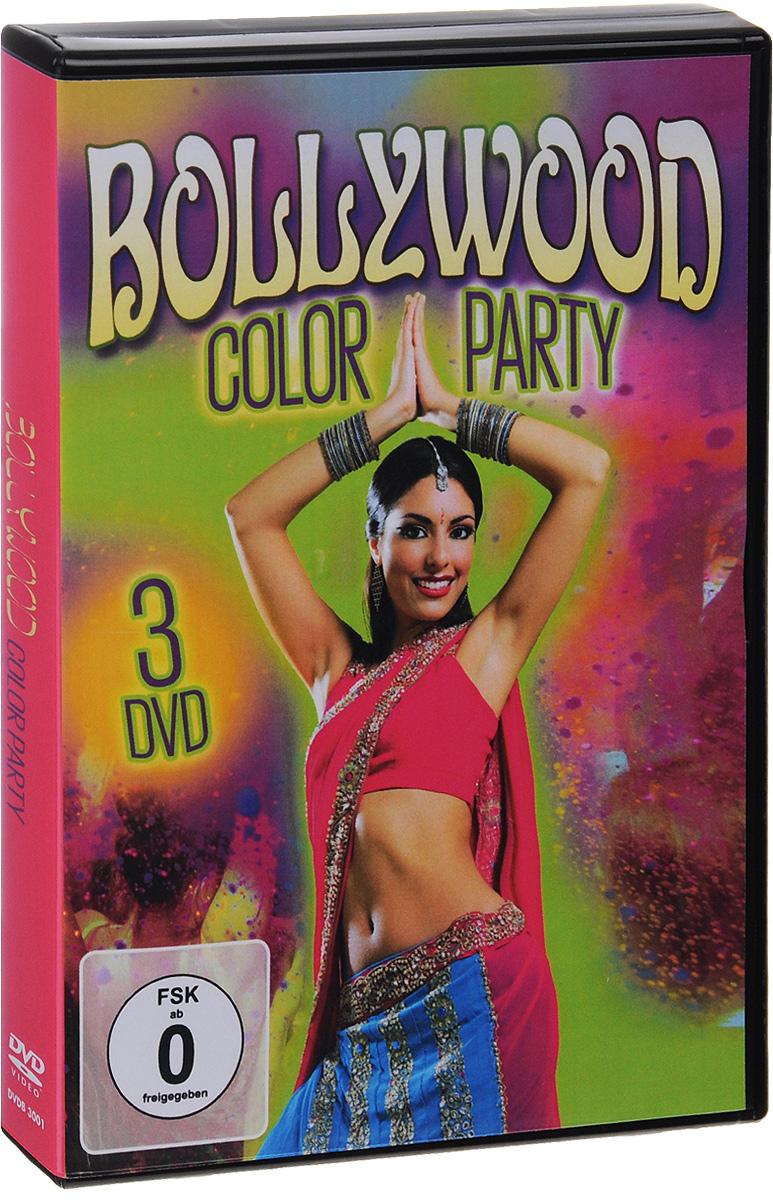 Bollywood Color Party (3 DVD) гардемарины 3 dvd