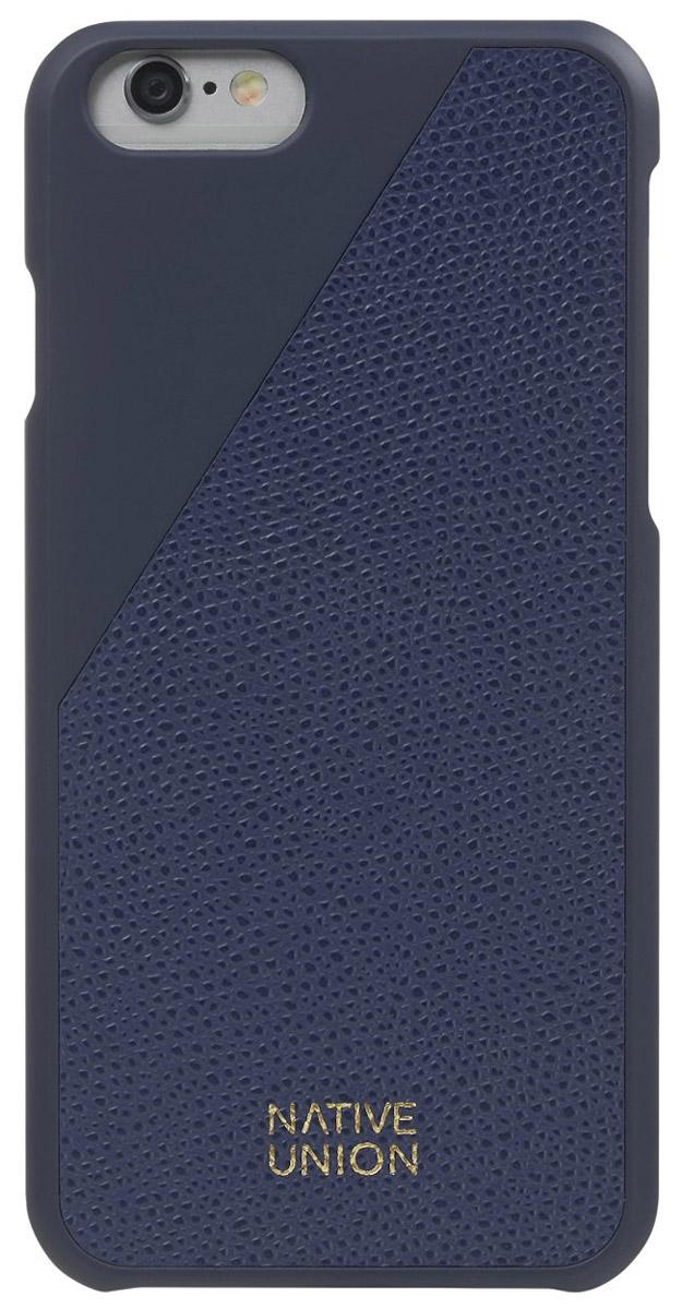 Фото - Native Union CLIC Leather чехол из телячьей кожи для iPhone 6/6s, Blue от поколения поколению