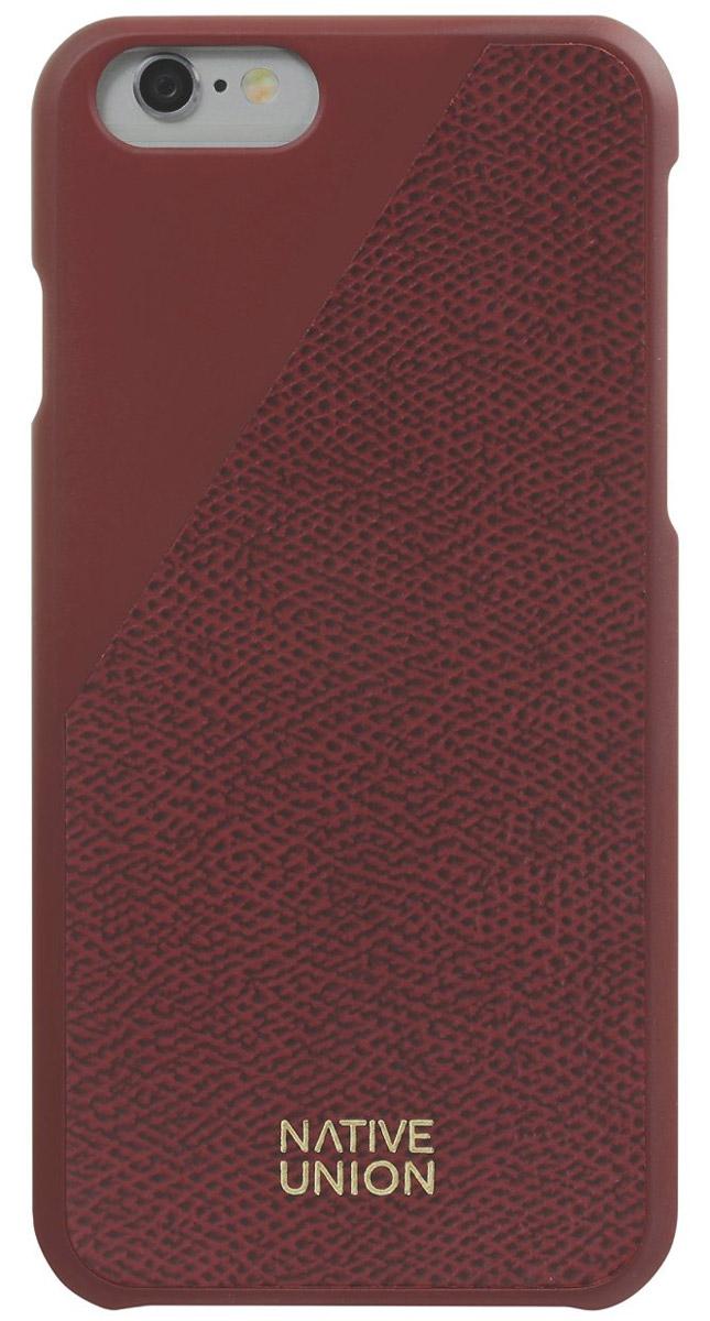 Фото - Native Union CLIC Leather чехол из телячьей кожи для iPhone 6/6s, Bordeaux от поколения поколению
