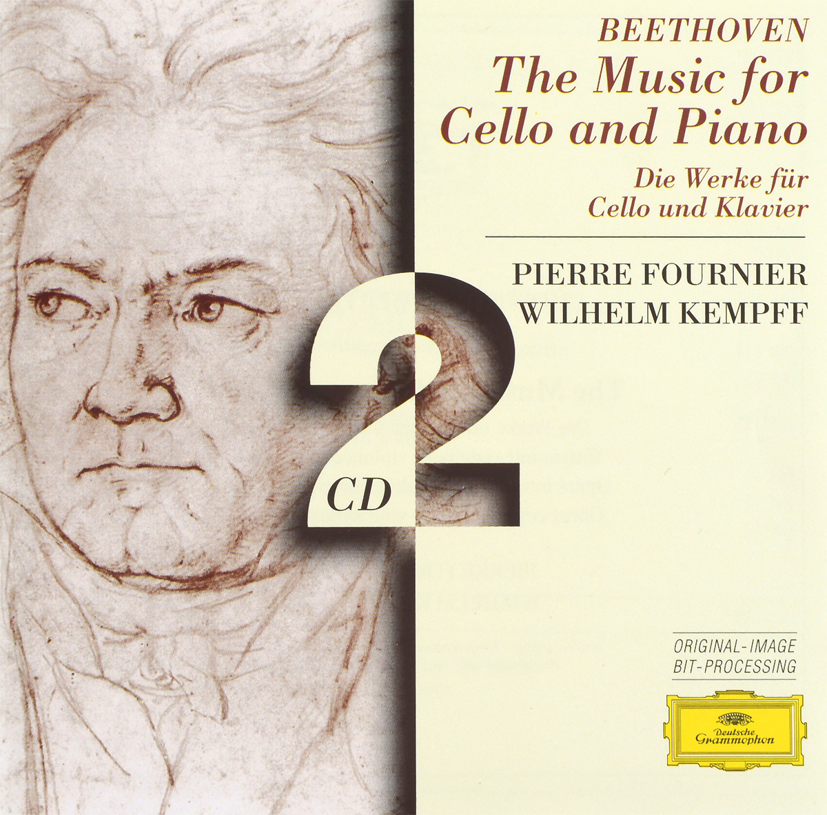 Pierre Fournier. Wilhelm Kempff. Beethoven. The Music For Cello And Piano (2 CD)
