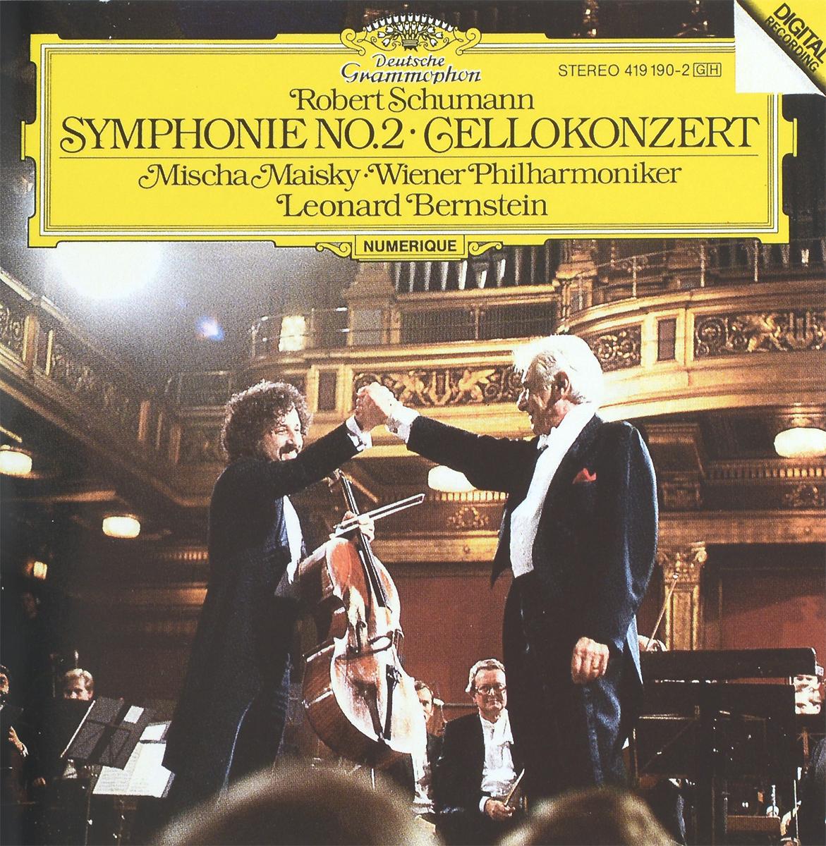 Леонард Бернштейн,Wiener Philharmoniker Leonard Bernstein. Robert Schumann. Symphonie No. 2 / Cellokonzert cd leonard bernstein wiener philharmoniker