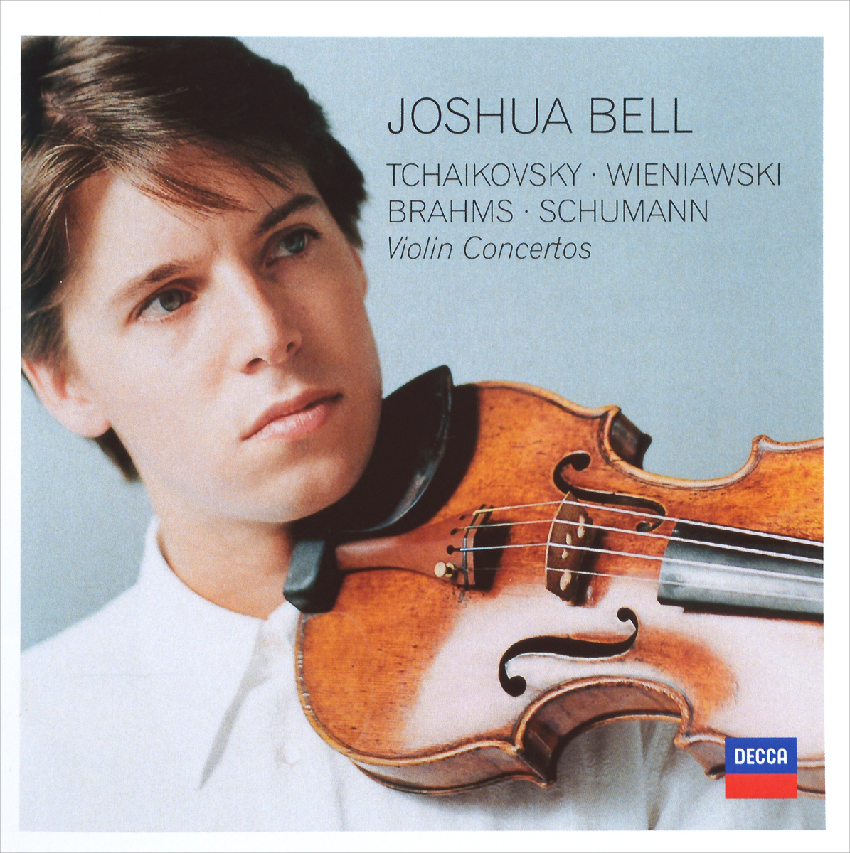 Джошуа Бэлл,The Cleveland Orchestra,Владимир Ашкенази Joshua Bell. Tchaikovsky / Wieniawski / Brahms / Schumann. Violin Concertos (2 CD) мицуко ючида the cleveland orchestra mitsuko uchida the cleveland orchestra mozart piano concertos 9 k271