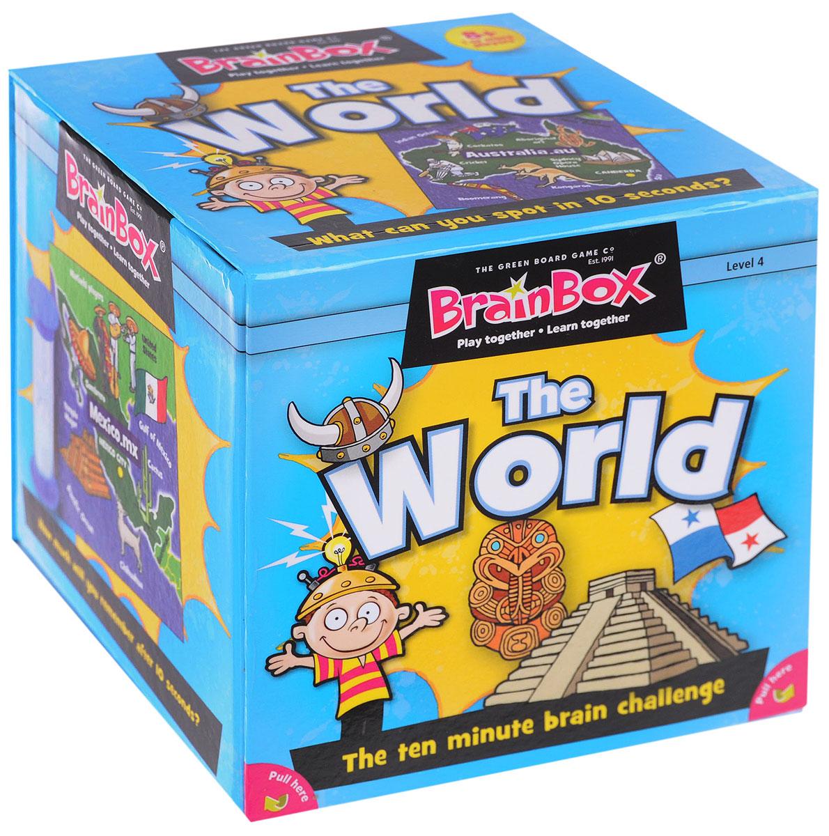 BrainBox Настольная игра Сундучок знаний The World сундучок знаний настольная игра сундучок знаний космос brainbox