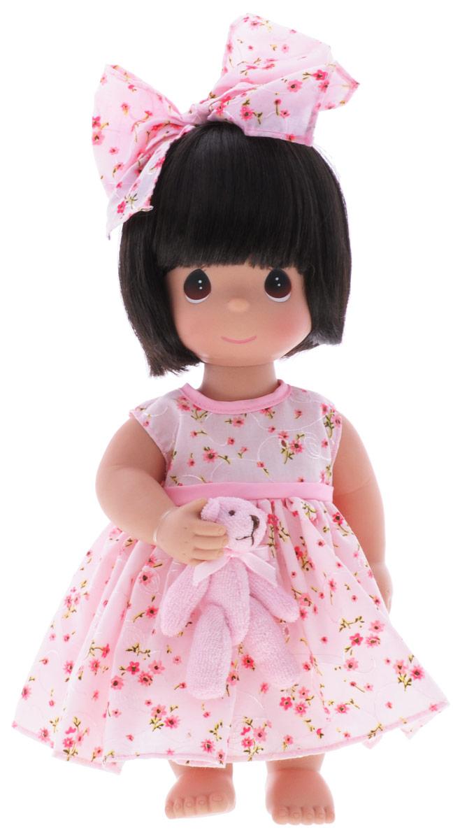 куклы и одежда для кукол precious кукла мир и гармония 30 см Precious Moments Кукла Босоногая брюнетка