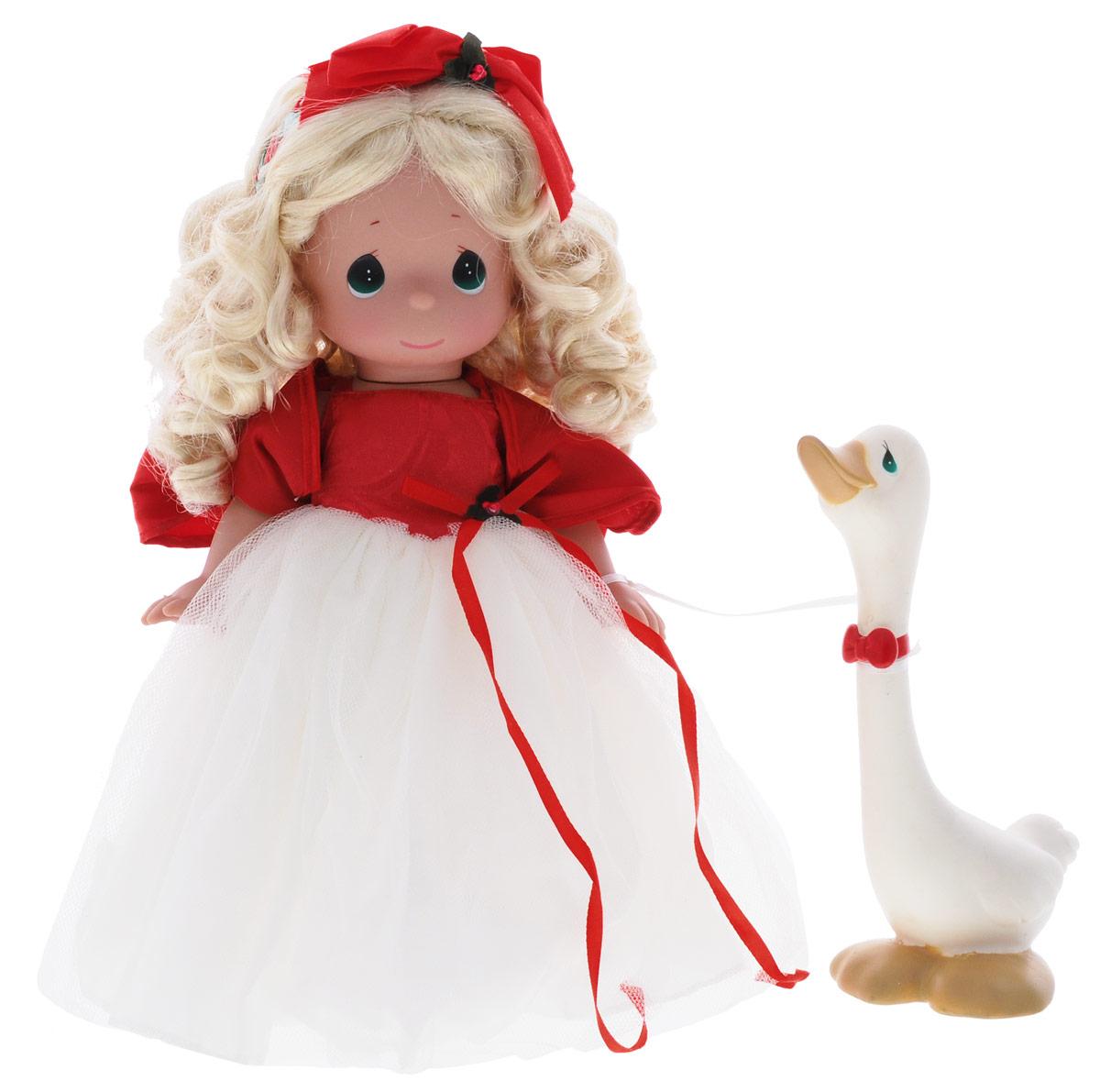 куклы и одежда для кукол precious кукла мир и гармония 30 см Precious Moments Кукла Сезон радости блондинка