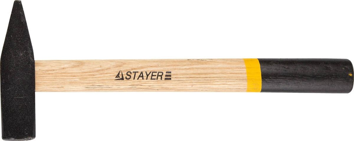 Молоток Stayer Master кованый с деревянной рукояткой, слесарный , 0,4 кг молоток слесарный с деревянной ручкой brigadier gravity