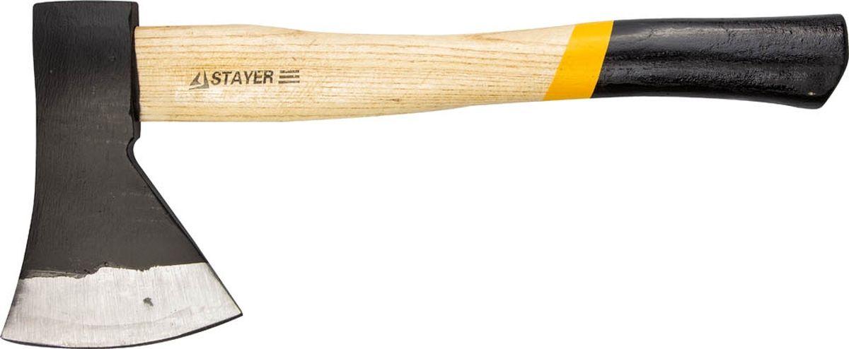 Топор кованый Stayer Master, с деревянной рукояткой, 1 кг стеклодомкрат stayer master maxlift 33718 1