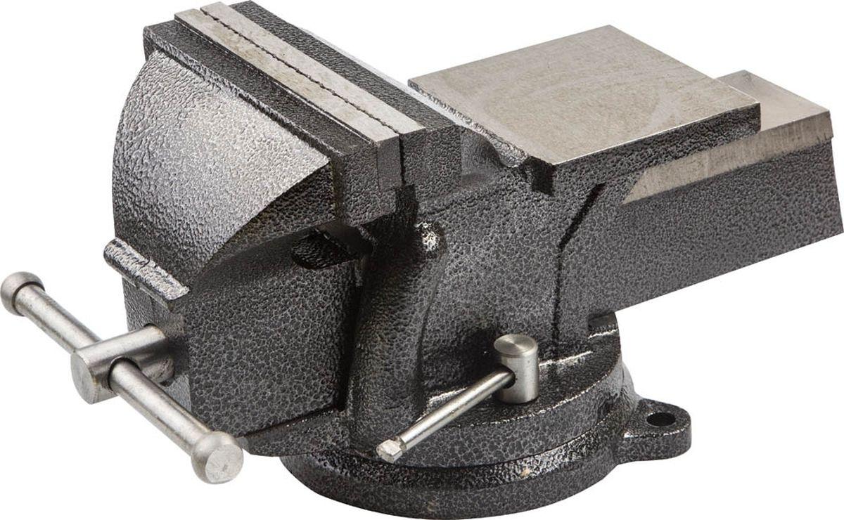 Тиски слесарные Stayer Standard, с поворотным основанием, 150 мм, 12,5 кг тиски stayer 60мм с поворотным механизмом 3252