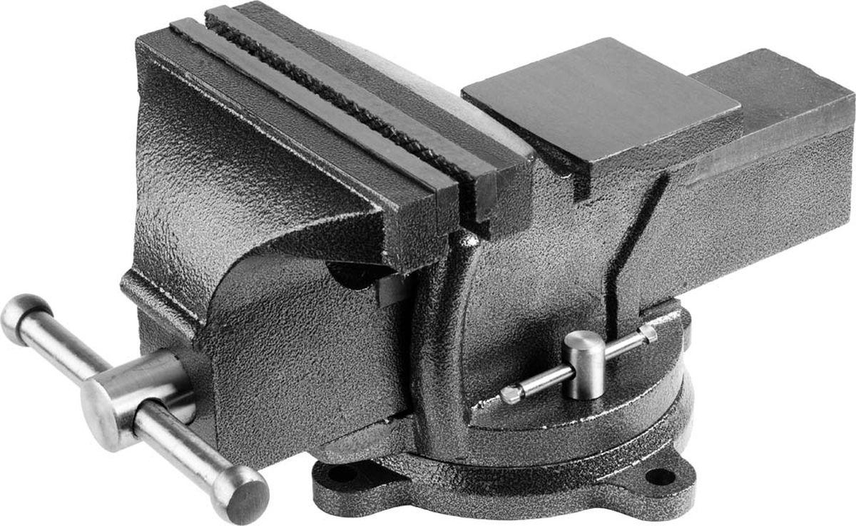 Тиски слесарные Stayer Standard, с поворотным основанием, 200 мм, 17,5 кг тиски stayer 60мм с поворотным механизмом 3252