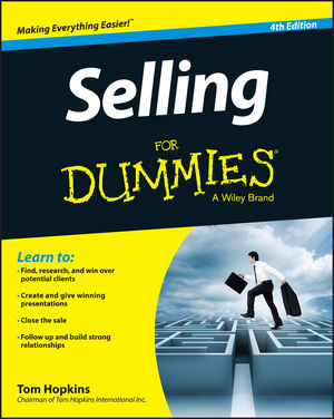 Selling For Dummies close your eyes hold hands
