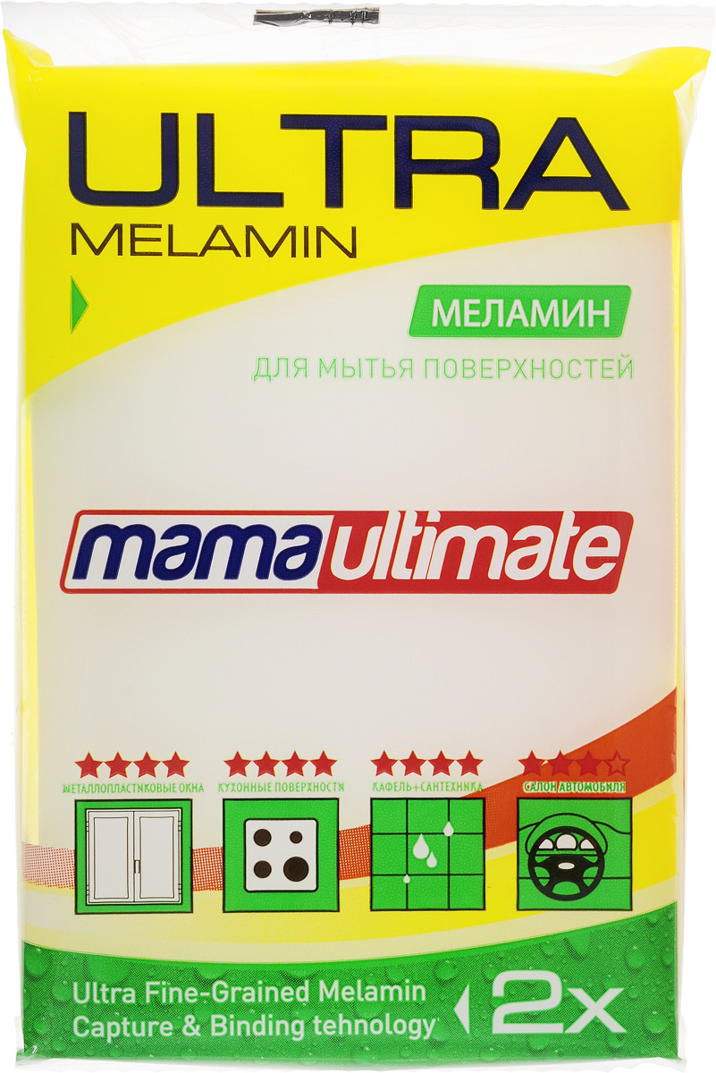 "Губка для уборки ""Mama Ultimate"", 11 х 7 х 3 см"