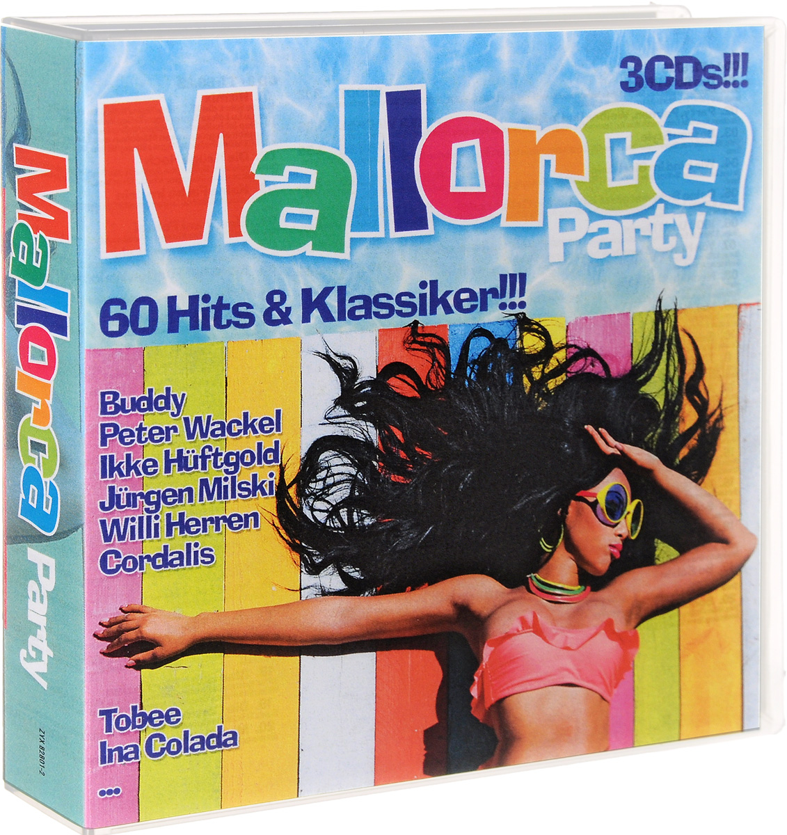 Mallorca Party. 60 Hits & Klassiker!!! (3 CD) public viewing party hits 2 cd