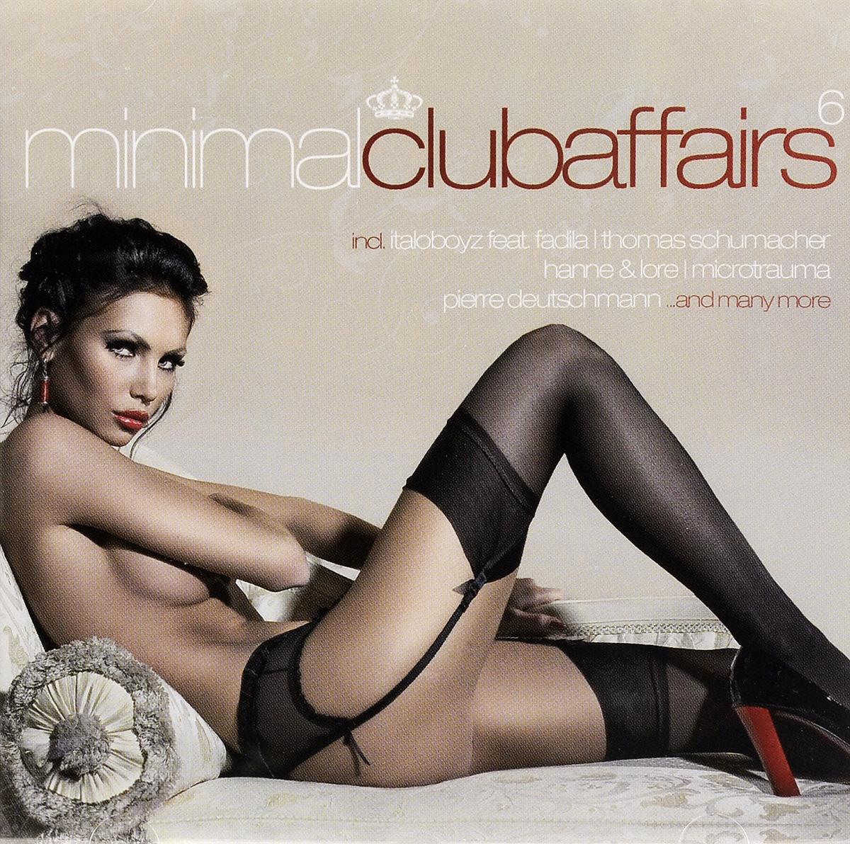 Фото - Minimal Club Affairs. Vol. 6 (2 CD) minimal house 2 cd