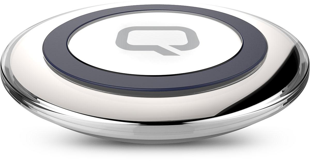 Фото - QUMO PowerAid Qi Table Charger беспроводное зарядное устройство беспроводное зарядное устройство qumo poweraid qi dual i charger 0013 10 вт 1 контур черный