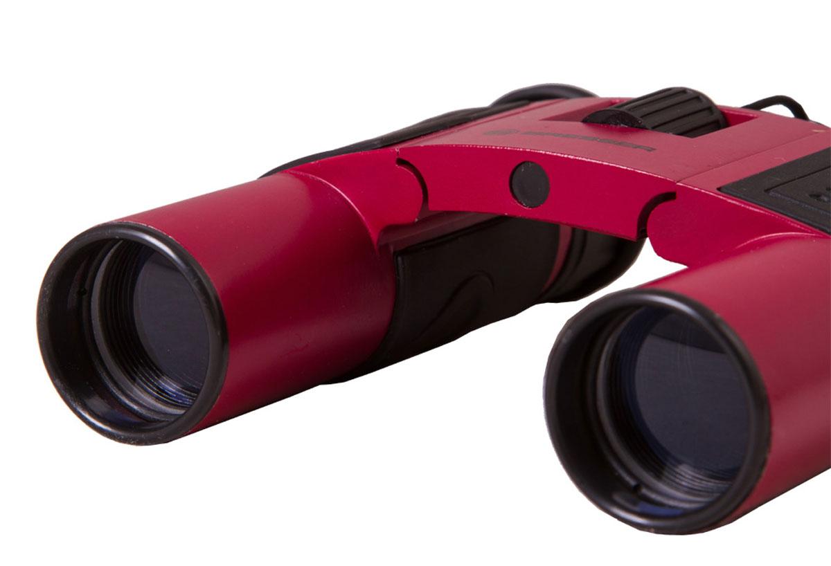 Bresser Topas 10x25, Red бинокль бинокль bresser topas 10x25 черный