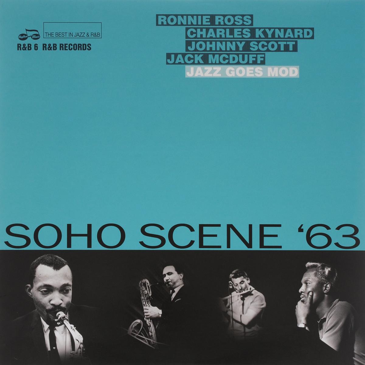 Soho Scene '63. Jazz Goes Mod (LP) even mo mod jazz