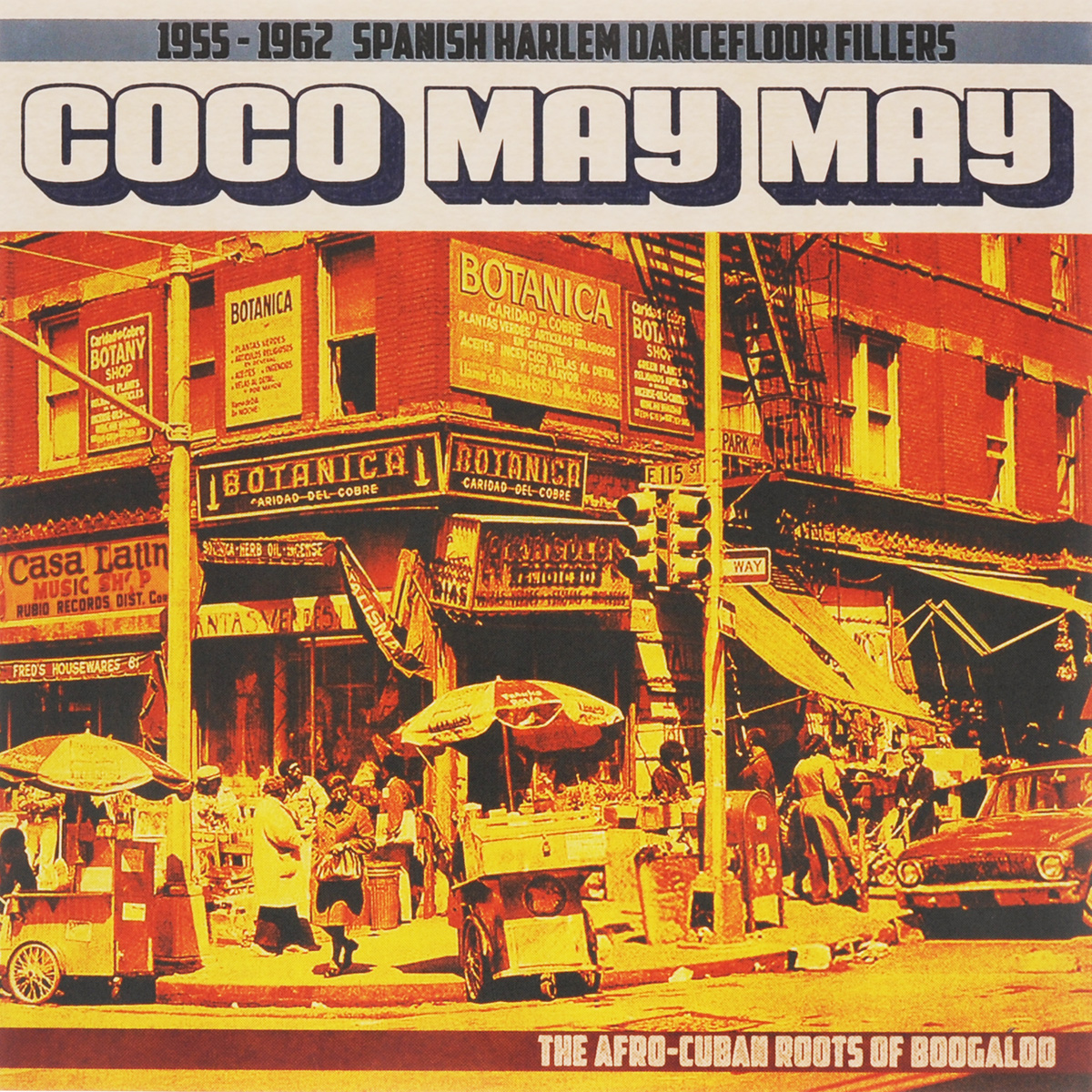 Coco May May. 1955-1962 Spanish Harlem (LP) цены онлайн