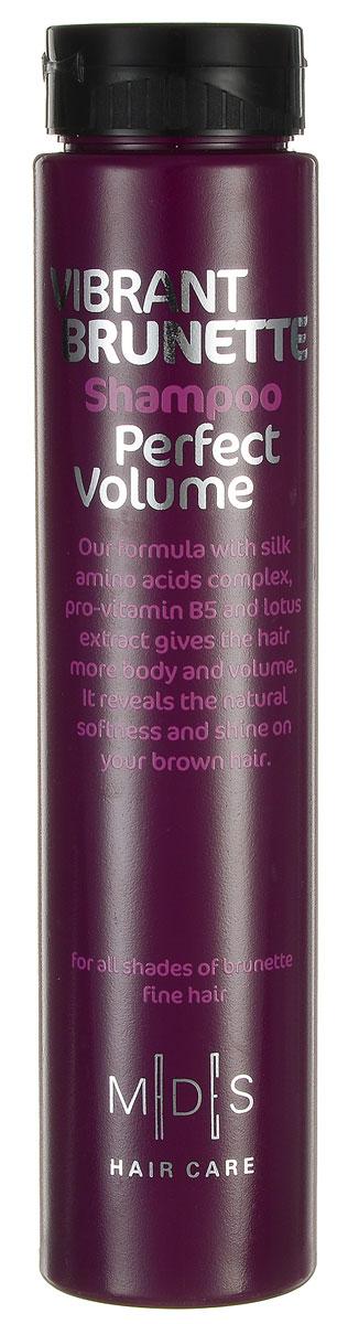 Hair Care Шампунь для темных волос Vibrant Brunette Perfect Volume для придания объема, 250 мл