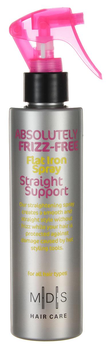 Hair Care Спрей для волос Absolutely Anti-Frizz Straight Support выпрямляющий с эффектом утюжка, 200 мл frizz ease выпрямляющий моделирующий спрей для волос длительного действия 100 мл