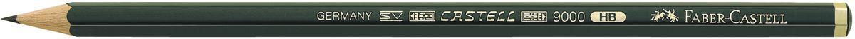 Faber-Castell Карандаш чернографитный Castell 9000 твердость HB