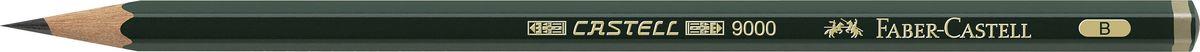 Фото - Faber-Castell Карандаш чернографитный Castell 9000 твердость B принадлежности для рисования faber castell кисточки clic