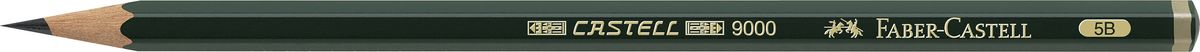 Фото - Faber-Castell Карандаш чернографитный Castell 9000 твердость 5B принадлежности для рисования faber castell кисточки clic