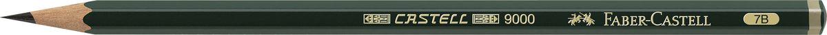 Фото - Faber-Castell Карандаш чернографитный Castell 9000 твердость 7B принадлежности для рисования faber castell кисточки clic
