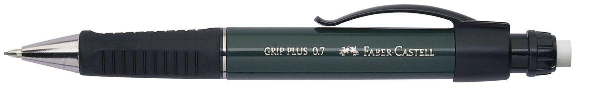 Faber-Castell Карандаш механический Grip Plus цвет корпуса темно-зеленый 130700 faber castell карандаш механический grip plus цвет корпуса темно зеленый 130700
