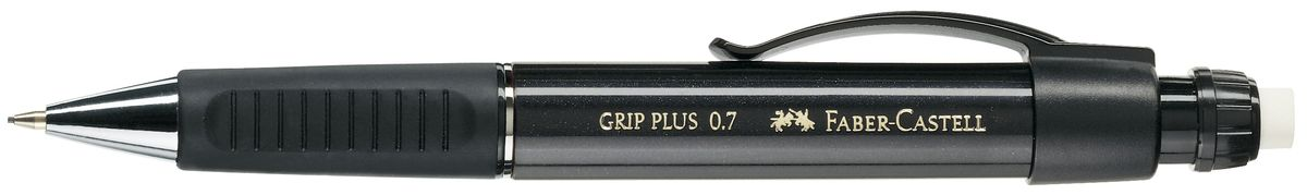 Faber-Castell Карандаш механический Grip Plus цвет корпуса черный 130733 faber castell карандаш механический grip plus цвет корпуса темно зеленый 130700