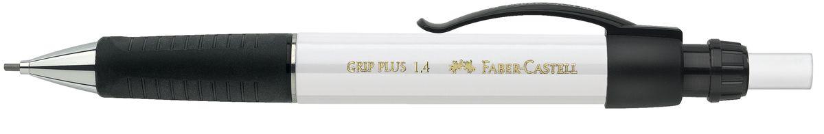 Faber-Castell Карандаш механический Grip Plus цвет корпуса белый 131401 faber castell карандаш механический grip plus цвет корпуса темно зеленый 130700