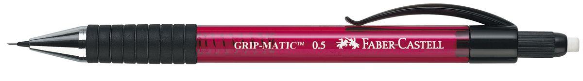 Faber-Castell Карандаш механический Grip-Matic цвет корпуса красный 137521 faber castell карандаш механический grip matic цвет корпуса красный 137721