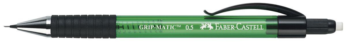 Faber-Castell Карандаш механический Grip-Matic цвет корпуса зеленый 137563 faber castell карандаш механический grip plus цвет корпуса темно зеленый 130700