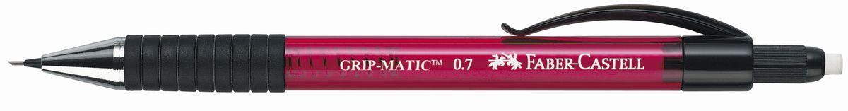 Faber-Castell Карандаш механический Grip-Matic цвет корпуса красный 137721 faber castell карандаш механический grip matic цвет корпуса красный 137721
