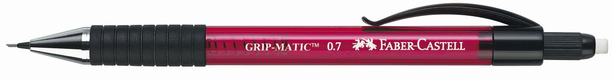 Faber-Castell Карандаш механический Grip-Matic цвет корпуса красный 137721 faber castell карандаш механический grip matic цвет корпуса синий 137551