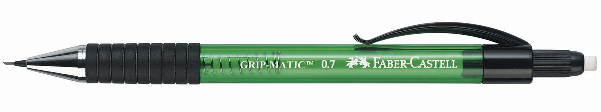 Faber-Castell Карандаш механический Grip-Matic цвет корпуса зеленый 137763 faber castell карандаш механический grip matic цвет корпуса красный 137721