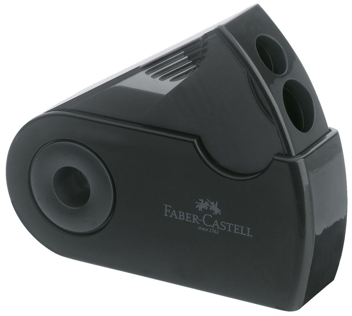 Faber-Castell Точилка двойная Sleeve цвет черный