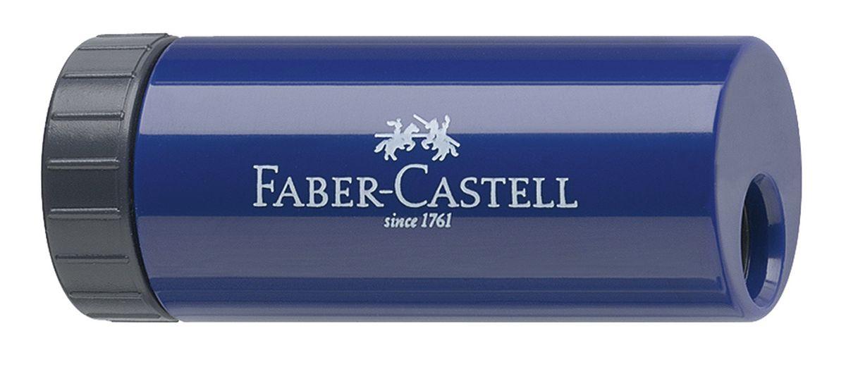 Faber-Castell Точилка с контейнером цвет синий