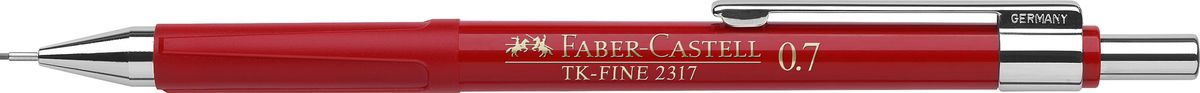 Faber-Castell Карандаш механический TK-Fine цвет корпуса красный 231721