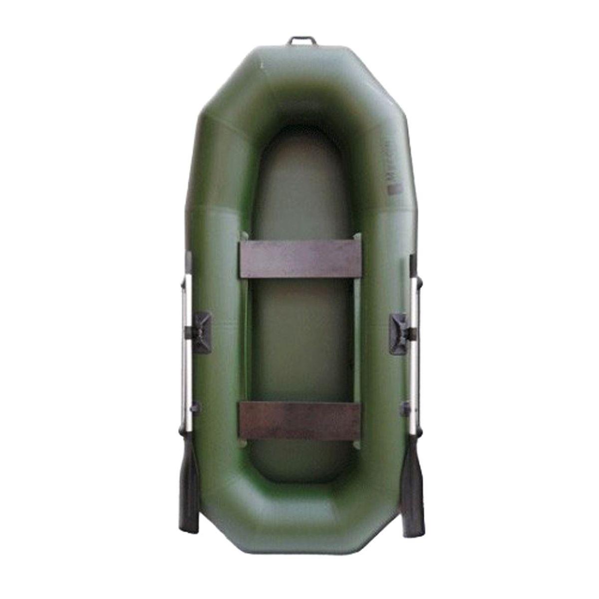 Лодка надувная Муссон Н 270, цвет: зеленый цена