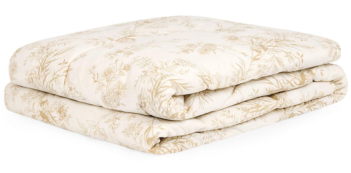 Одеяло Classic by T Хлопок-натурэль, наполнитель: хлопок, полиэфир, цвет: экрю, 175 х 200 см одеяло classic by t кашемир натурэль наполнитель кашемир полиэфир цвет бежевый 175 х 200 см