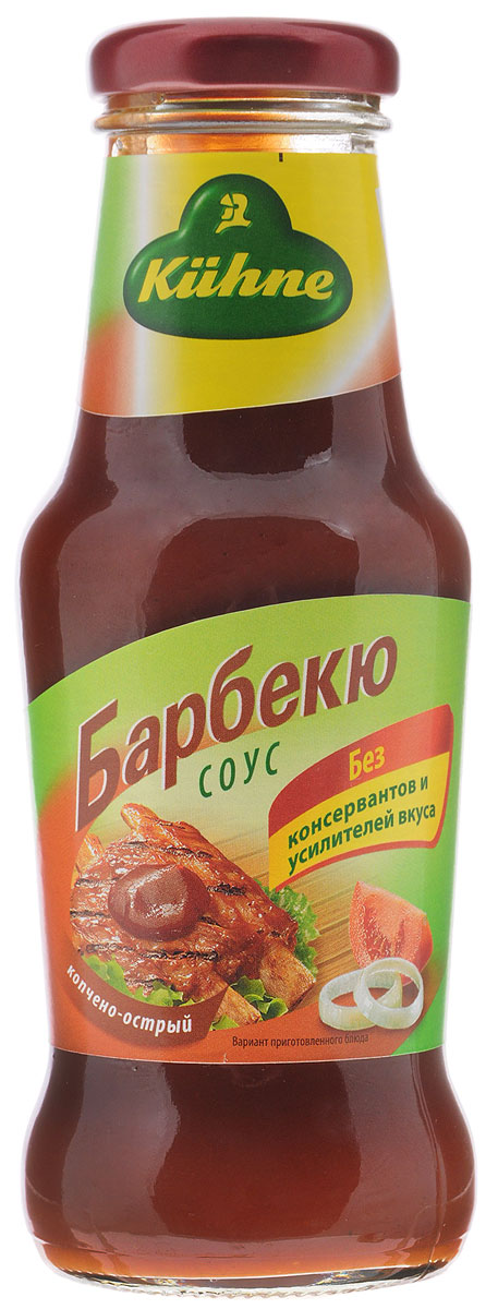 Kuhne Spicy Sauce Barbecue соус томатный барбекю, 290 г соус паста pearl river bridge hoisin sauce хойсин 260 мл
