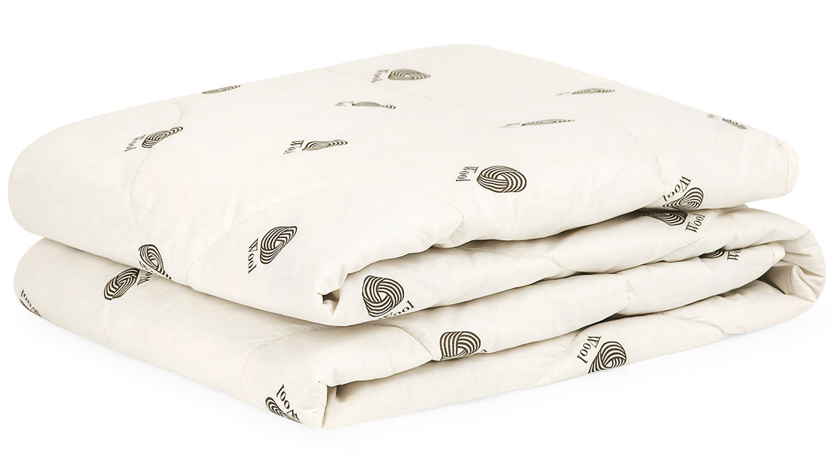 Одеяло Classic by T Верблюжья Шерсть, цвет: экрю, 175 х 200 см одеяло евростандарт сова и жаворонок верблюжья шерсть сиж